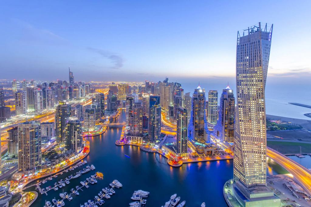 Дубай Марина отели